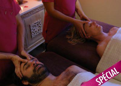 Le massage en duo